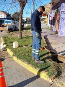Santa Clara del Mar: revamping en el colector de calle Bariloche