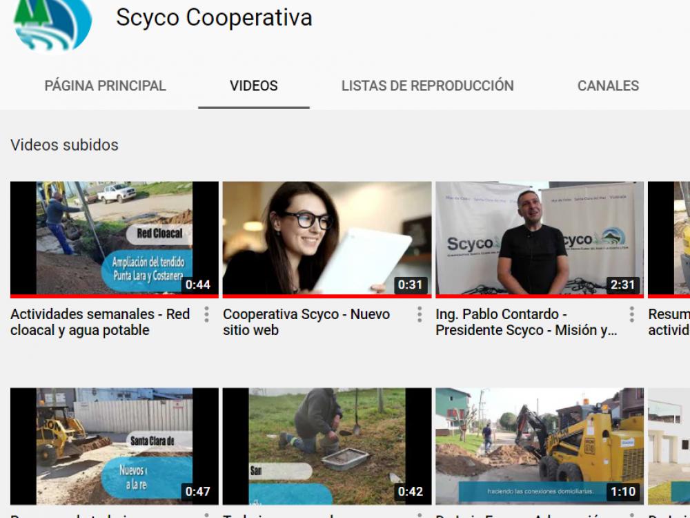 YouTube: online el canal de Scyco