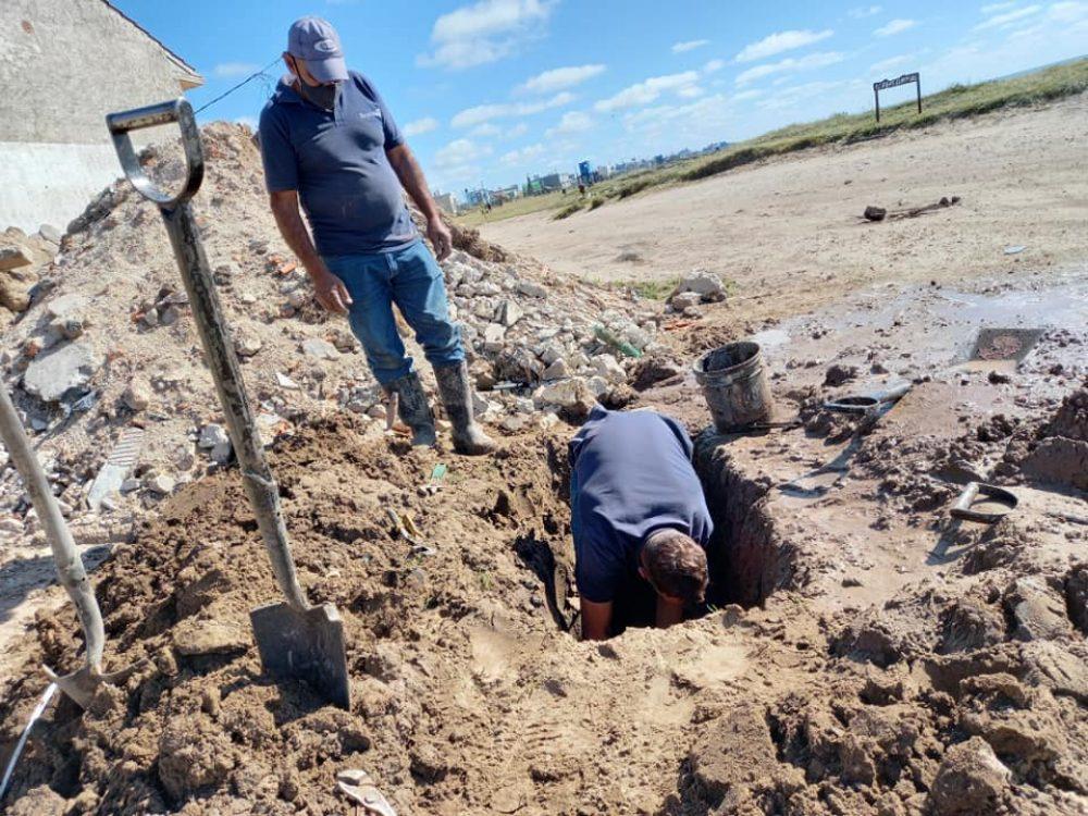Reparaciones de pérdidas en la red de agua potable