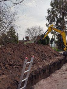 Agua potable y cloacas para más vecinos