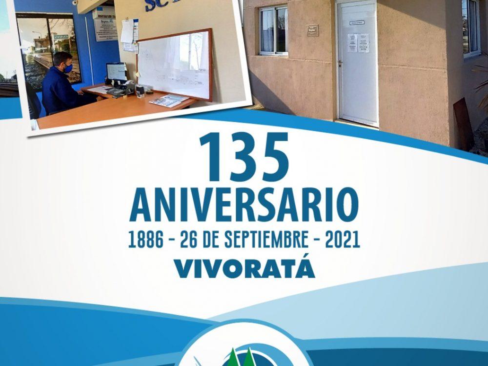 Vivoratá – 135 Aniversario
